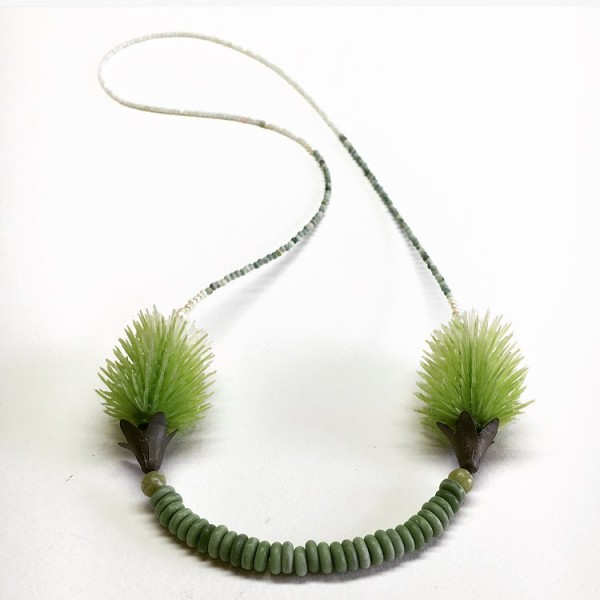 In Balance series Neckpiece by Melinda Young.
