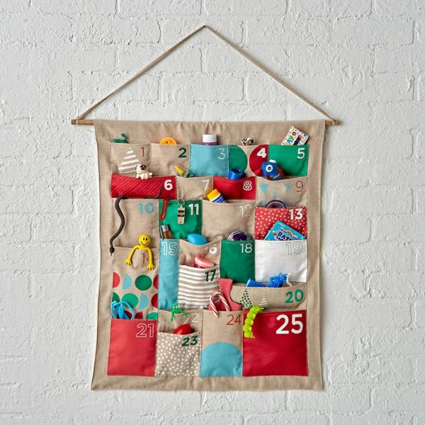 Merry Mod Advent Calendar, $52.81 (reduced from $70.42), from House of Nod.