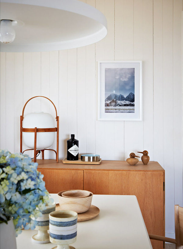 Beautiful sideboard styling in Simone Haag's home. Photography by photos by Armelle Habib   via Desire to Inspire and Urbis Magazine.