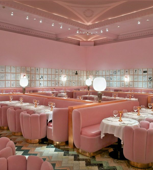Princess Eugenie recommends eating at The Gallery at Sketch, London.