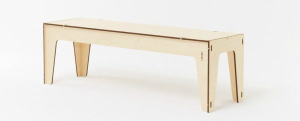 Panca Corta bench seat, $645 from Plyroom.