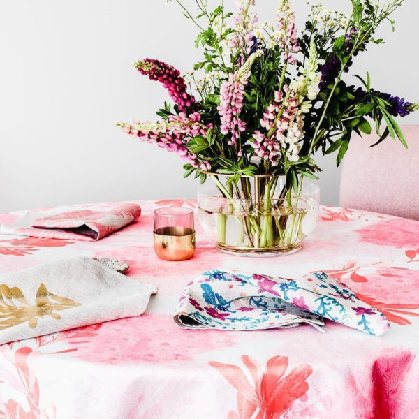 Beautiful tablecloths by Australian design brands: Bonnie and Neil tablecloth.