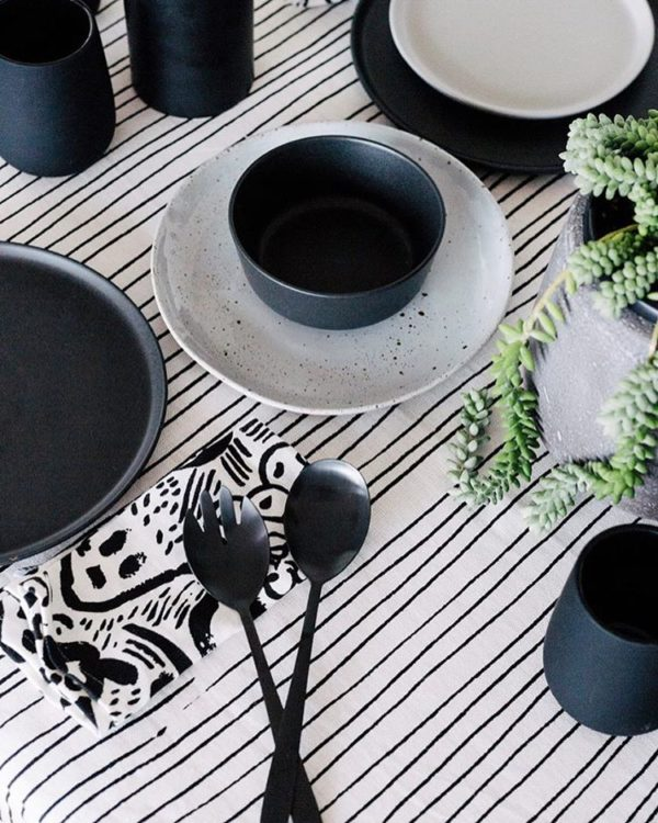 Beautiful tablecloths by Australian design brands: Kate and Kate tablecloth.