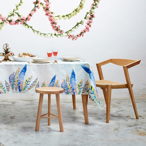 Beautiful tablecloths by Australian design brands: Charlie and Fenton tablecloth.