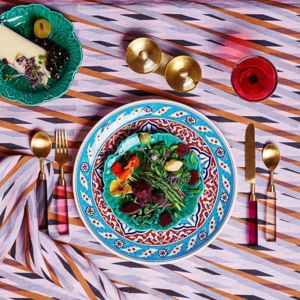 Beautiful tablecloths by Australian design brands: Kip & Co Tablecloth.